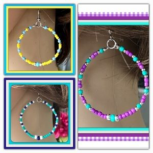 🌺🌴🌺 3 PAIRS OF HOOP EARRINGS / 1 PRICE 🌺🌴🌺